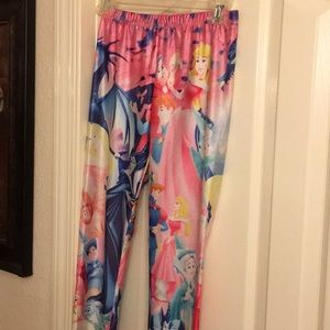 Sleeping beauty leggings small Juniors Disney